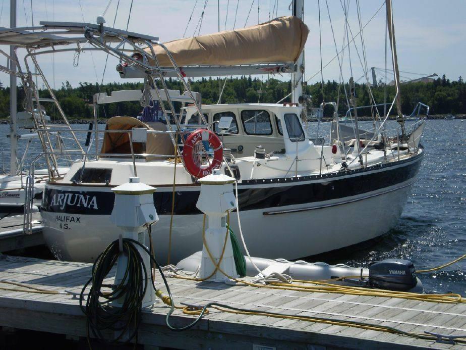 028 - Arjuna - moored