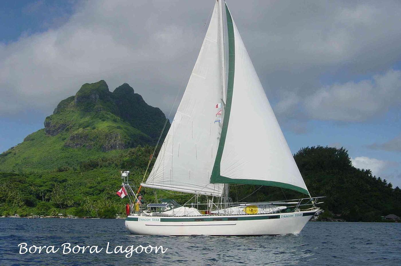 038 - Dragon Star - Bora Bora Lagoon