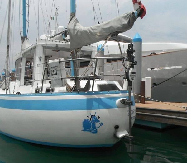 040 - Blue Snail - stern