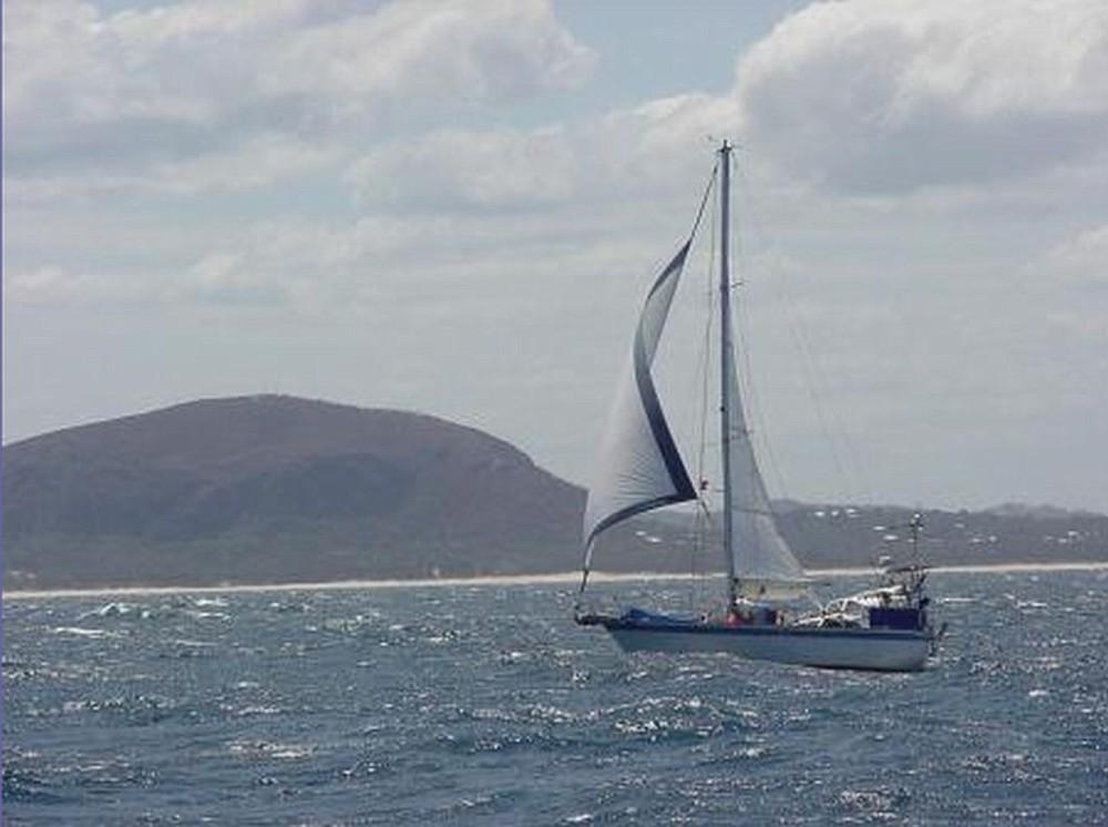 043 - Balmacara - at sea
