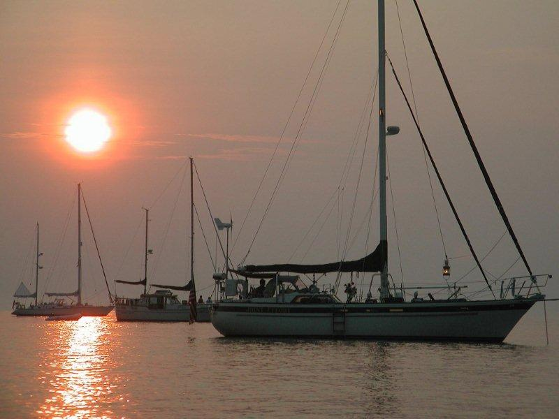 069 - Joint Effort - sunset