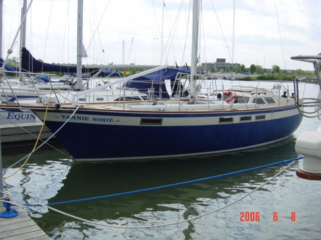 119 - Tammie Norie - berthed