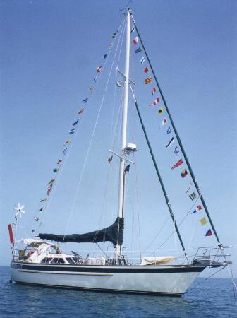 144 - Cormorant - sailing