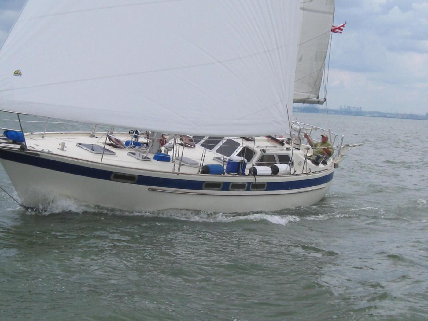 145 - Luff Shack - sailing