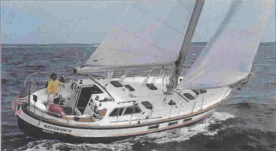 155 - Blue Run (Reverence) - sailing