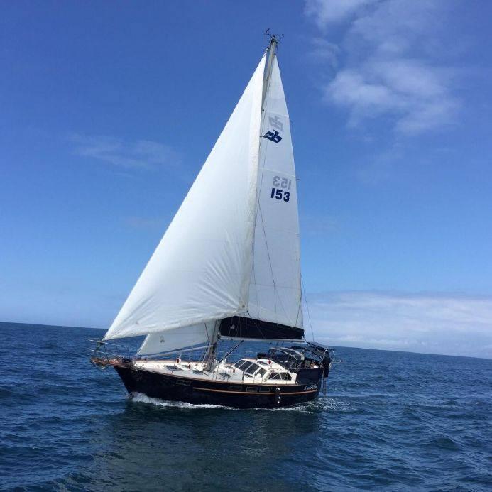 158 - Swell Dish - sailing