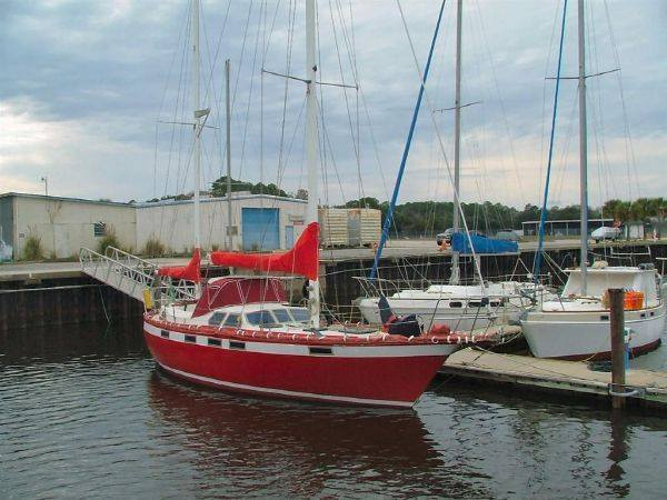 167 - Marion Mae - moored