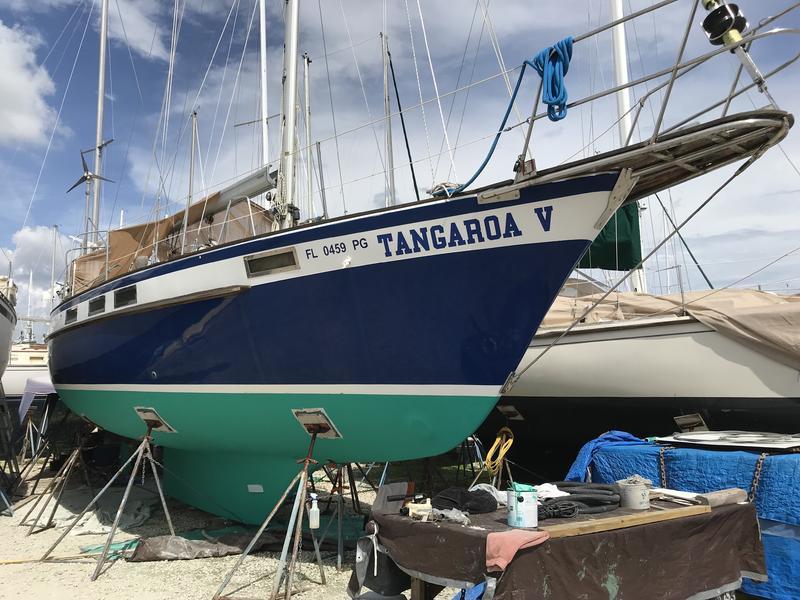189 - Tangaroa - antifoul