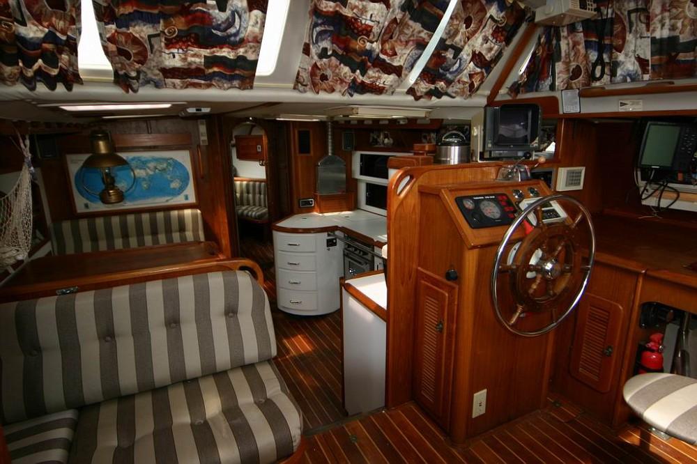 189 - Tangaroa - interiorviewfromcompanionway