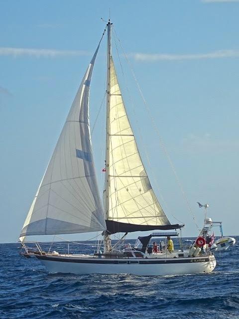 190 - RKalliste' - sailing