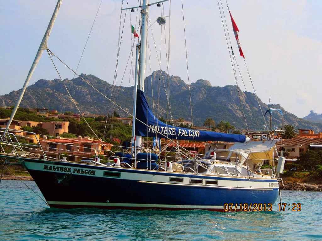 198 - Maltese Falcon - anchored