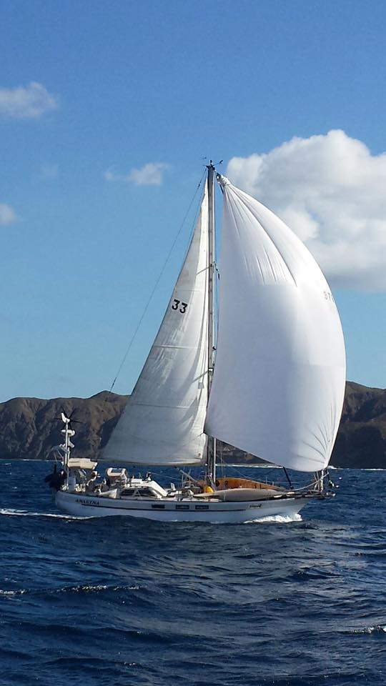 174 - Anakena - sailing