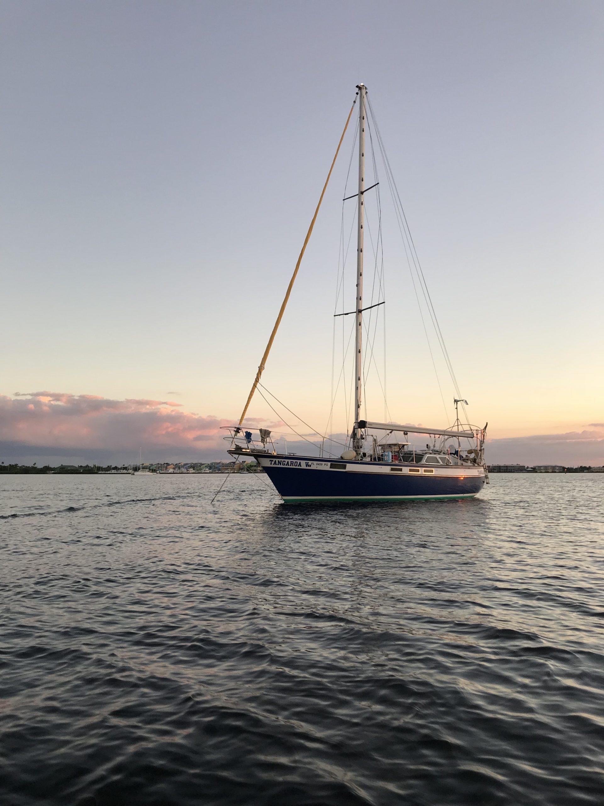 189 - Tangaroa V - anchored